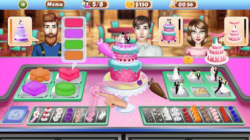 Wedding Party Cake Factory: Dessert Maker Games screenshots 2