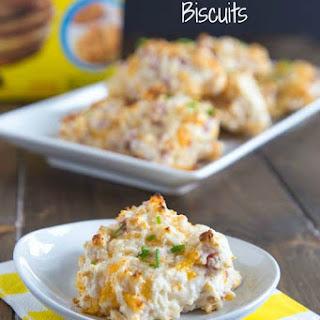 Ham & Cheddar Biscuits