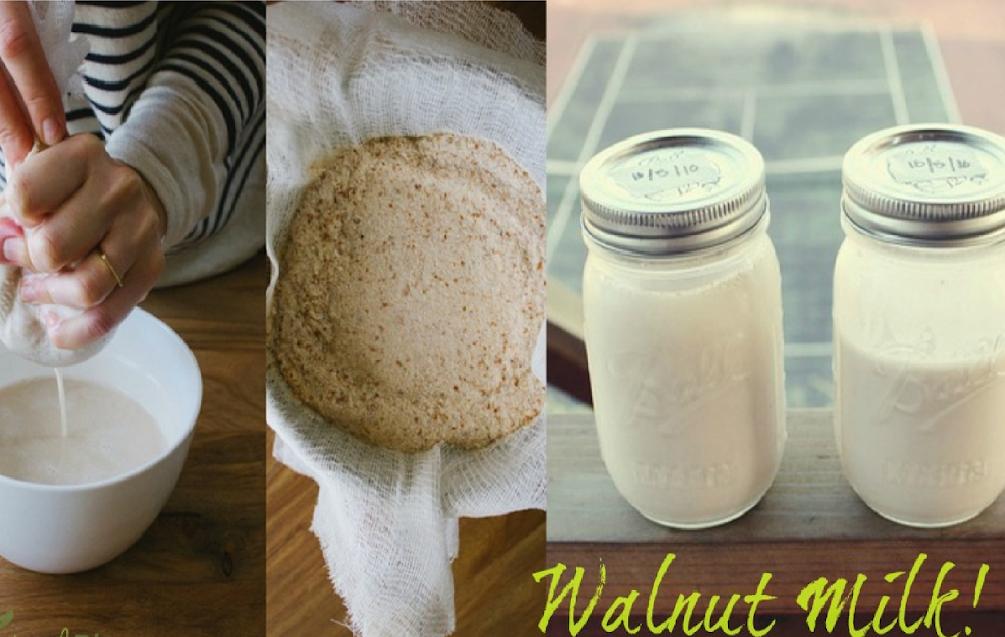 5 Minute Walnut Milk A Healthier Alternative To Almond