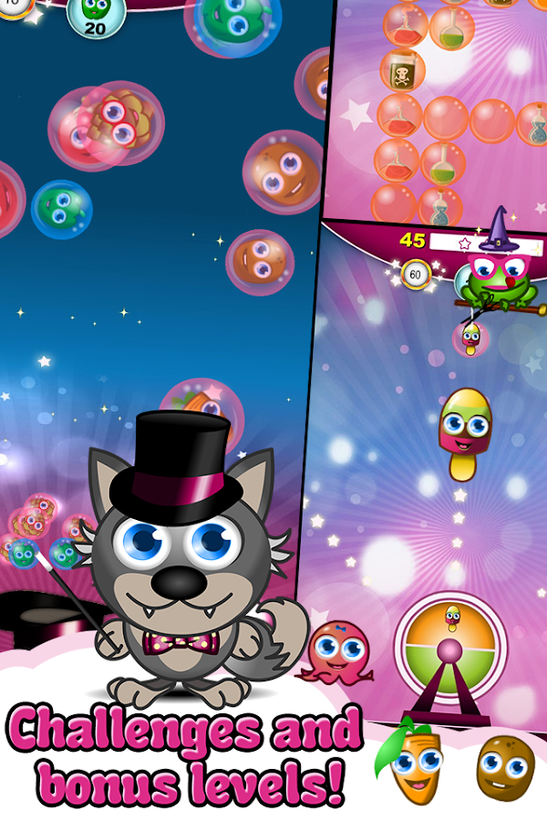 Bubble Magic World- screenshot