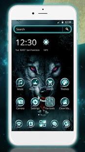 Icy ferocious Wolf Theme - náhled