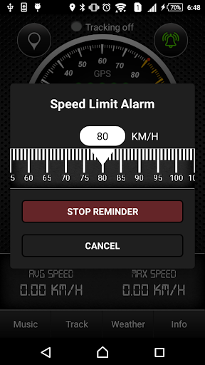 GPS Speedometer screenshot 5