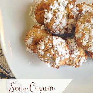Sour Cream Cookie Bites