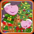 Santa's workshop: Christmas Eve icon