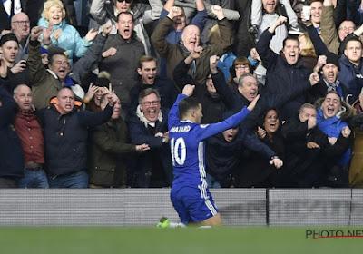 Hazard ouvre le score face à West Ham!