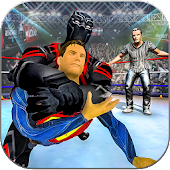 Superhero Wrestling Revolution Fighting Arena War