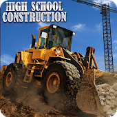 School Construction Site: Tower Crane Operator Sim