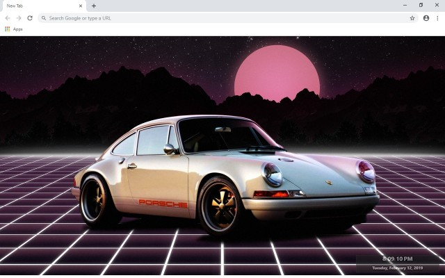 Porsche 911 New Tab & Wallpapers Collection