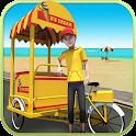 Beach Ice Cream Delivery icon