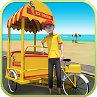 Beach Ice Cream Delivery icon