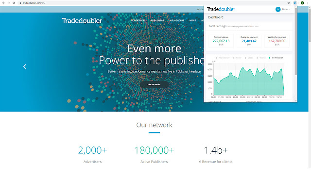 Tradedoubler for Publishers