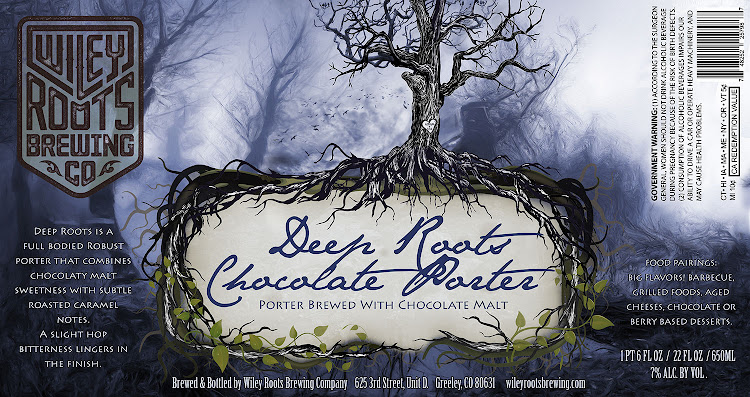 Logo of Wiley Roots Deep Roots Chocolate Porter