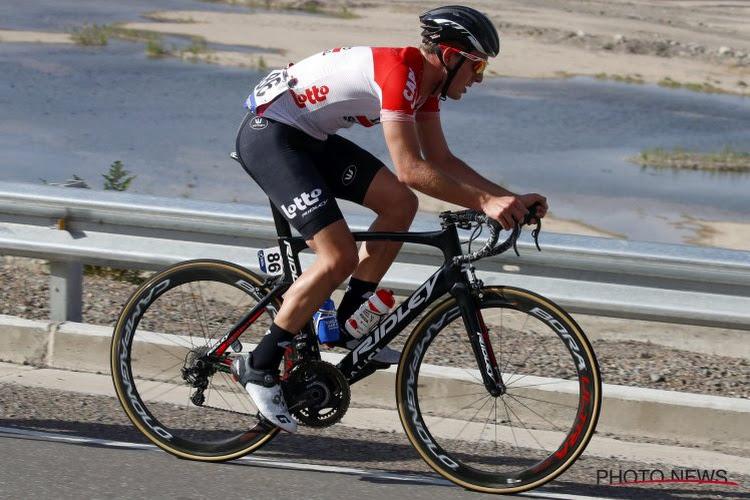 Voormalig Lotto-prof Enzo Wouters zet op zijn 25ste het wielrennen op een laag pitje