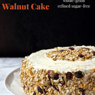 Pumpkin Spice Walnut Cake