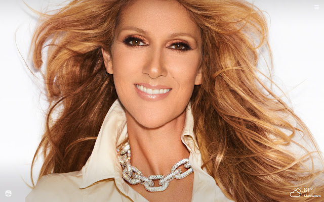 Celine Dion HD Wallpapers New Tab Theme