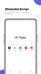 UC Browser Turbo - Fast Download, Private, No Ads Screenshot