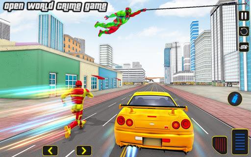 Boss robot corde hero crime city - Jeu de robot  captures d'écran 1
