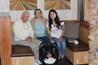 Photo: Met Cari's Dad for lunch - Four generations!