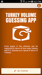 Turkey Volume Guessing App- screenshot thumbnail