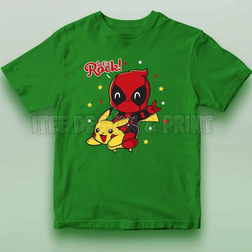 Pikachu Deadpool 12
