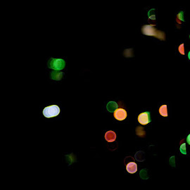 Bokeh of lights by Govindarajan Raghavan - Abstract Patterns