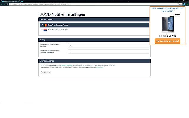 iBOOD notifier