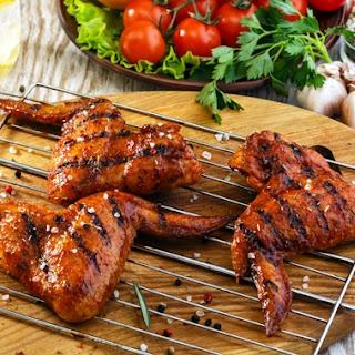Chicken Shashlik With Vegetables