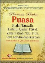 Panduan Praktis PUASA, Shalat Tarawih, I'tikaf Berdasarkan Al-Qur'an dan Sunnah | RBI