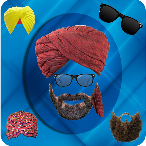 Turban Photo Editor – Beard, Moustache, Sunglasses (app)