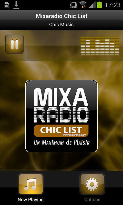 Mixaradio Chic List- screenshot