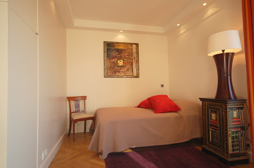 Luxury bedroom at Studio apartment near Eiffel Tower