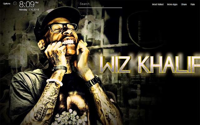 Wiz Khalifa Wallpapers Fullhd New Tab