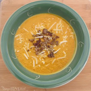 Homemade Pumpkin Soup With Maple Sausage