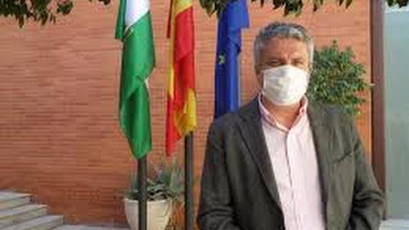 Juan de la Cruz Belmonte, delegado de Salud en Almería.