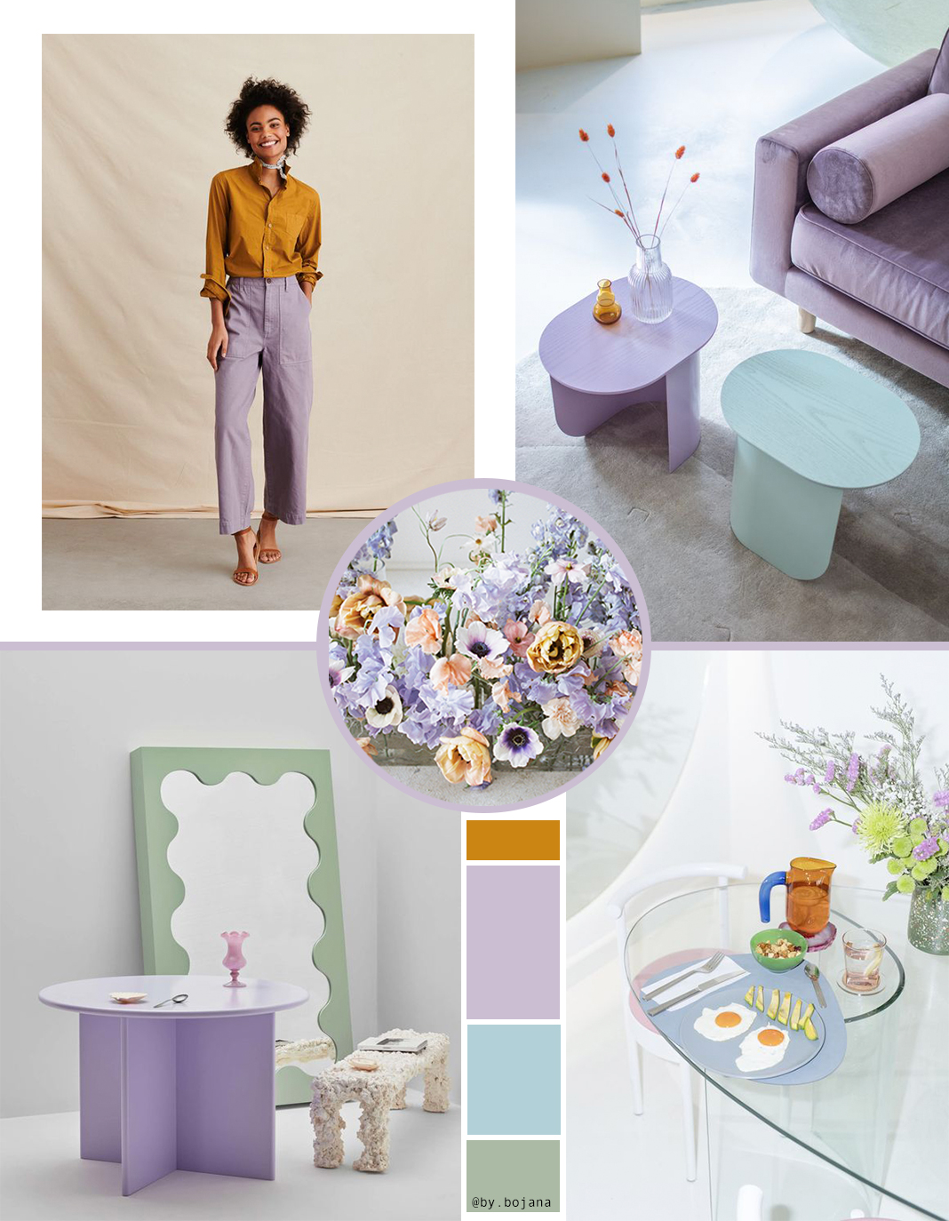 Millennial Purple interiors and decor