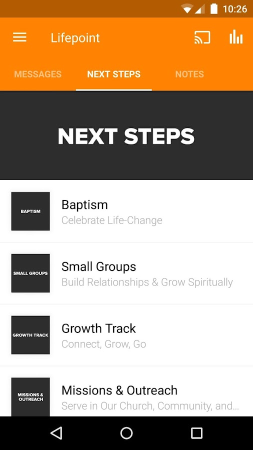 Lifepoint Church Wilmington- screenshot