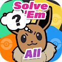 Solve Em All - Poke Quiz Hard Questions icon