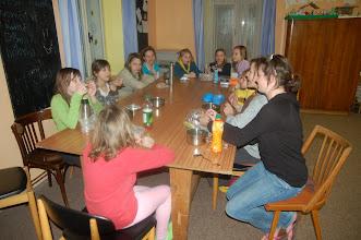 Photo: Čekání na páteční večeři