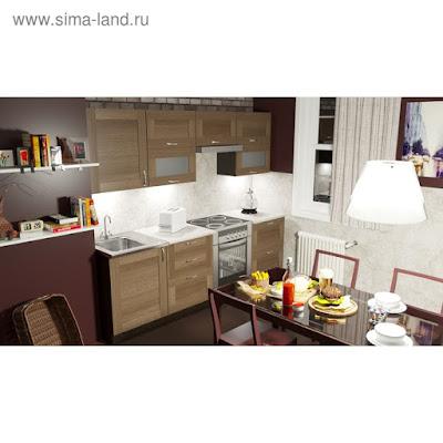 Кухонный гарнитур Кира базис 2400