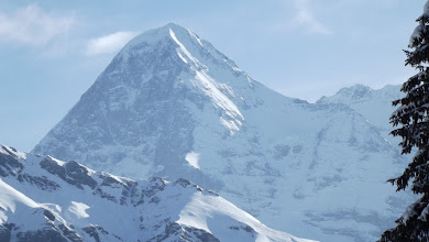 Photo: The Eiger, Bernese Alps, early March 2011
