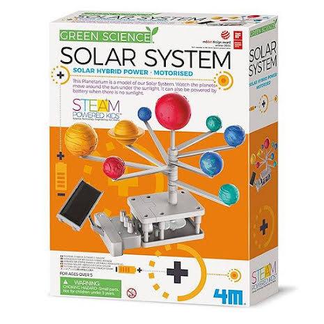 Solcellsdrivet solsystem ny version