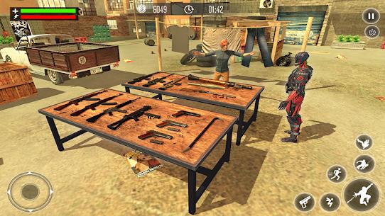 Robot Rope Hero Simulator – Army Robot Crime Game 2