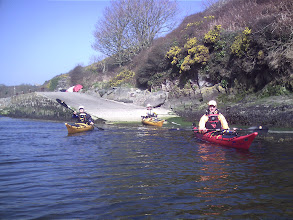 Photo: Launching at Porthclais