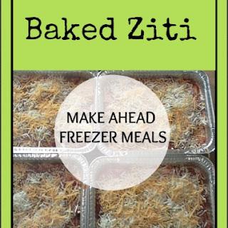 Baked Ziti – Yummy Cheesy Goodness!.