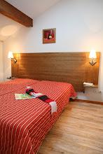 Photo: Une chambre double d'un appartement 3 pièces pour 8 personnes en duplex