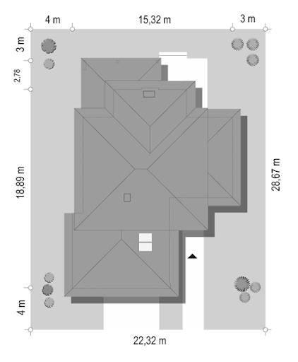 Dom z widokiem 3 F - Sytuacja