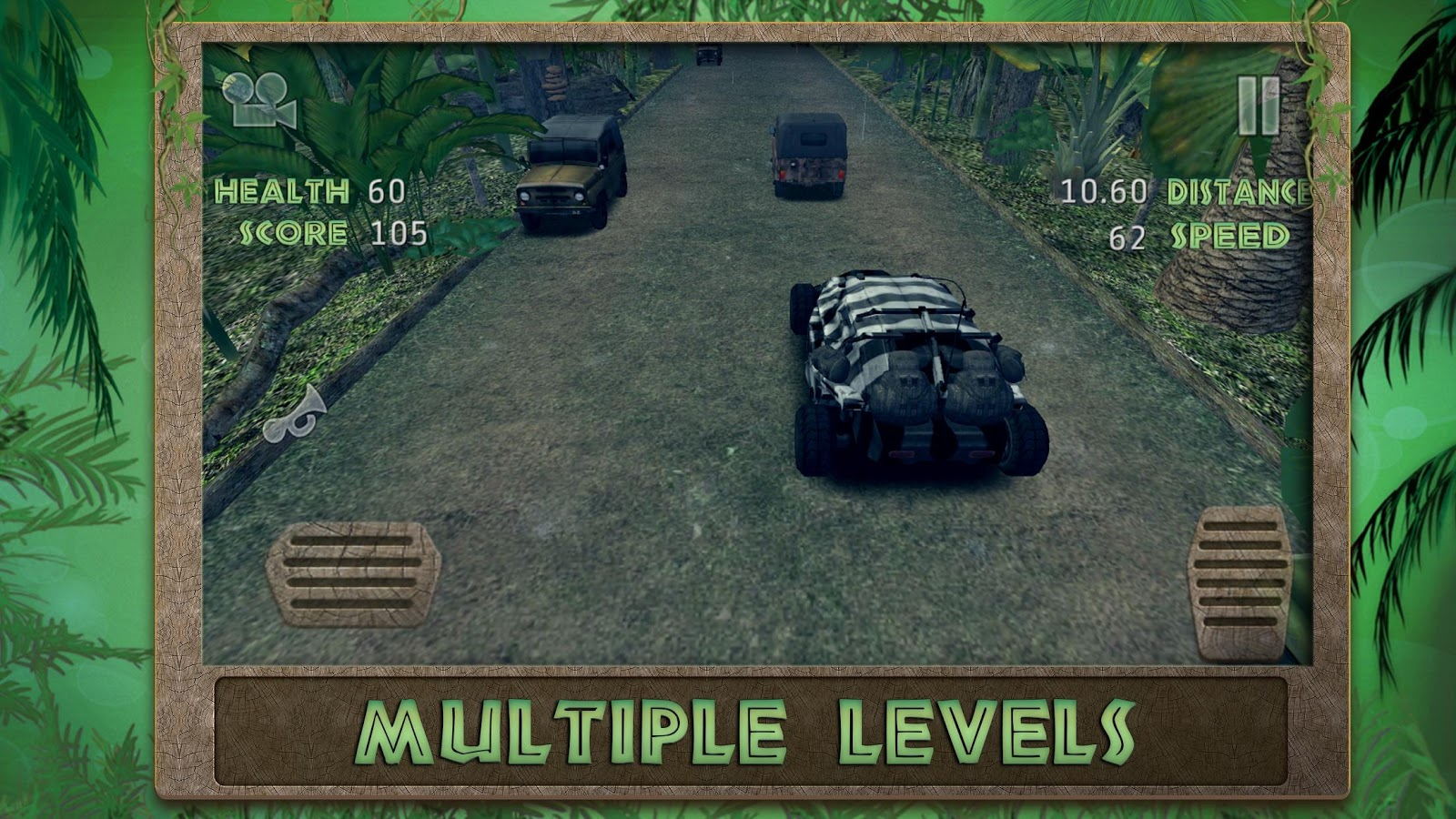 Jungle Racer: 3D Racing Game- screenshot