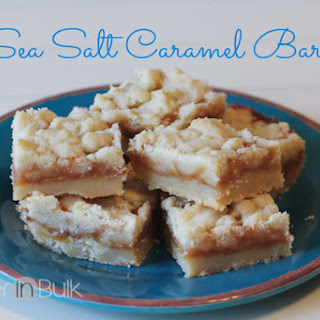 Sea Salt Caramel Bars