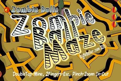 Zombie Ball Maze