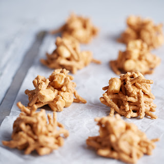 Butterscotch Haystacks With Chow Mein Noodles Recipes
